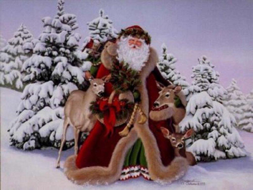 Espiritu de Navidad rojo