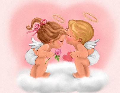 angelitos de amor