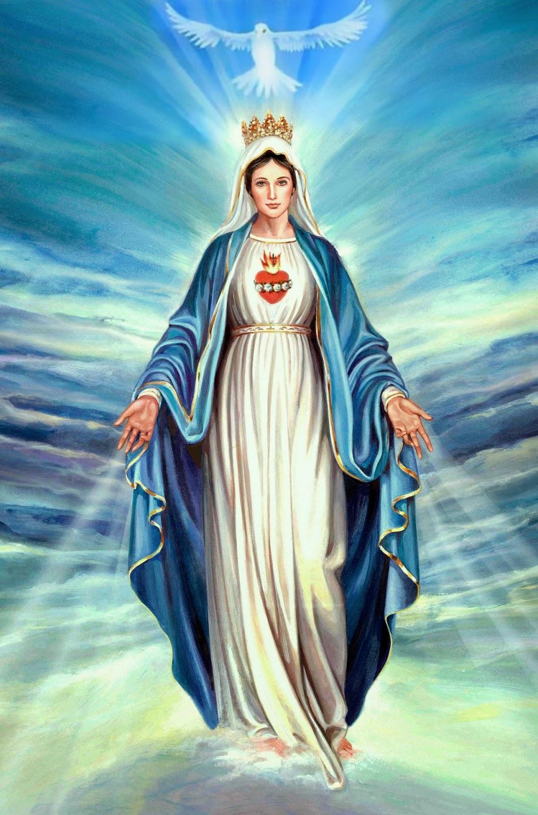 virgen maria rosario