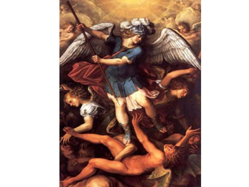 San Miguel quien como Dios