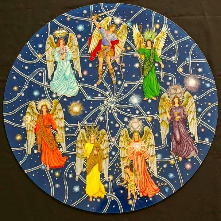 circulo 7 arcangeles